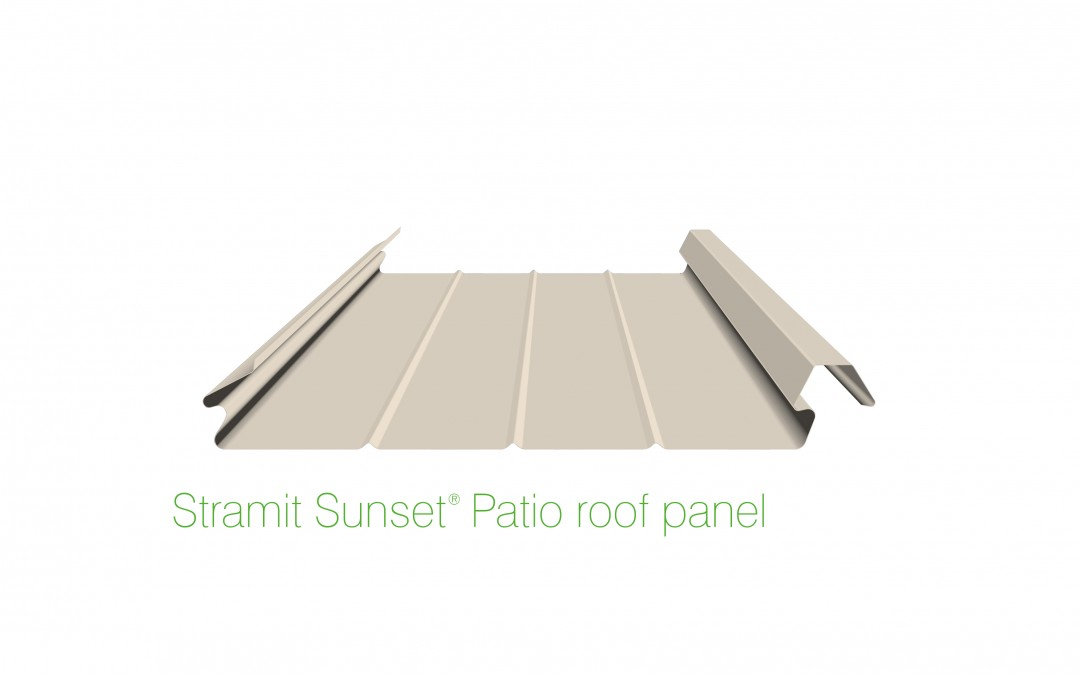 Sunset roof panel
