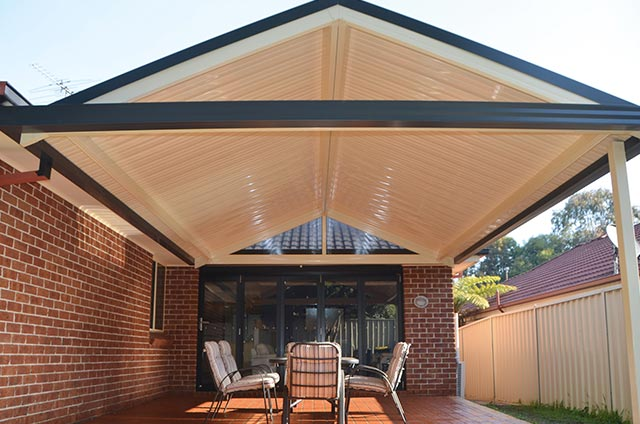Colorbond Gable Roof Verandah Pergola from SOL Home Improvements