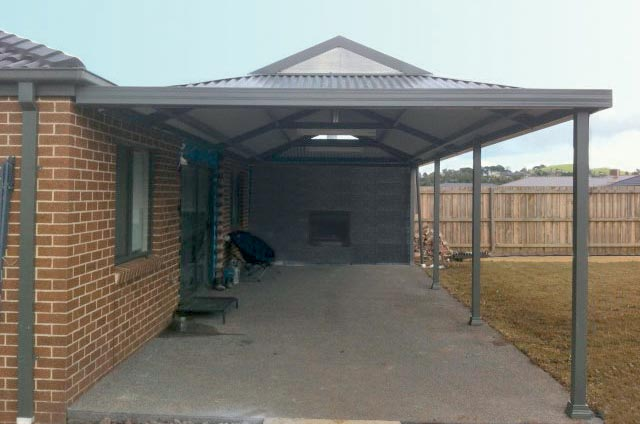 Colorbond Steel Dutch Gable Carport